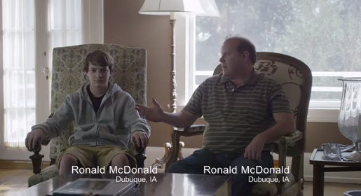 Ronald McDonald and Ronald McDonald talk about Taco Bell.