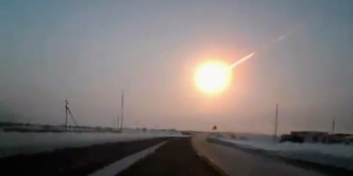 This is what a 10-ton meteor looks like.