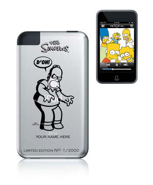 Simpsons iPod smaller