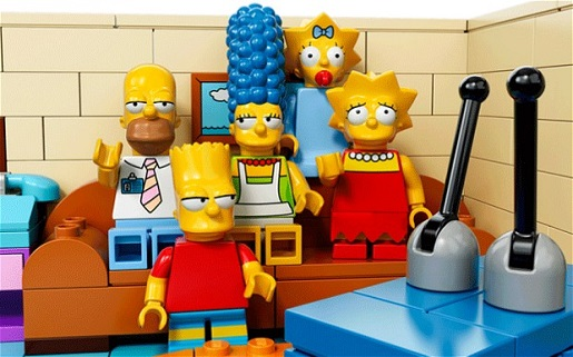 The Simpsons, Lego-style.