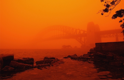 Haunting Images From Australia's Dust Storm