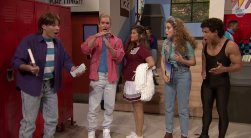 tonight show saved by the bell