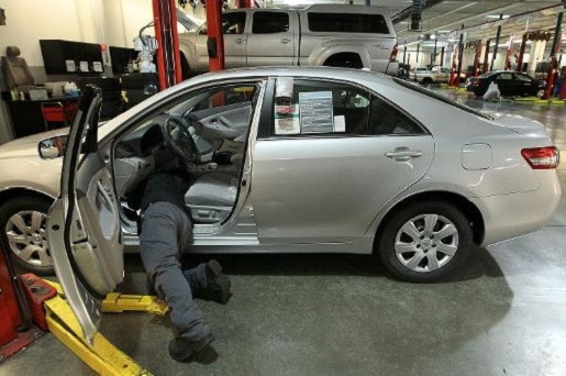 Fixing a fatal accelerator on a Toyota, many years too late.