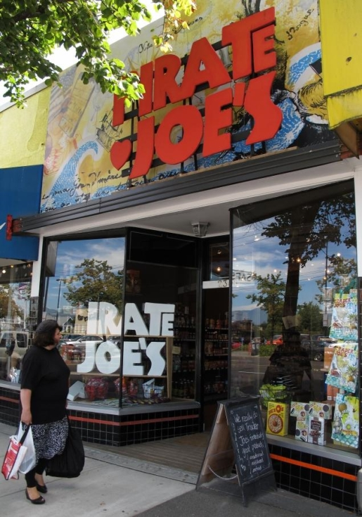 Pirate Joe's, the unofficial Trader Joe's of Canada.