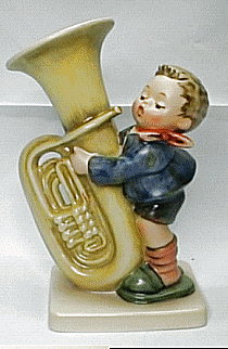 Tuba Hummel Figurine