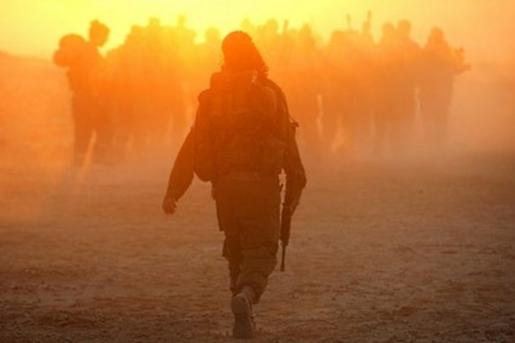 Women in combat.